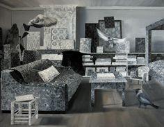 """""""Birds"""" oil on canvas, 140x110 cm, 2013"""