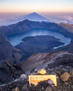 About Mt. Rinjani Mount Rinjani (Gunung Rinjani) is an active volcano on the island of Lombok. It's Indonesia's second highest, after Mt. Kerinci on the island of Sumatra. Rinjani is the most picturesque volcano we've ever seen, as if taken straight...