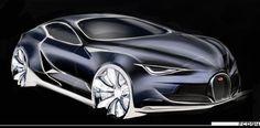 Bugatti Sketch 2013