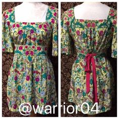 """100% Silk Floral Top by Plenty by Tracy Reese 100% Silk Floral Top by Plenty by Tracy Reese high quality silk top, pullover top and ties in back for a custom fit that really flatters your bust and waist, has bra strap holders so it stays in put on the shoulders this is a generous small fits more like a medium bust measures 38"""" length is 29"""" Anthropologie Tops"""