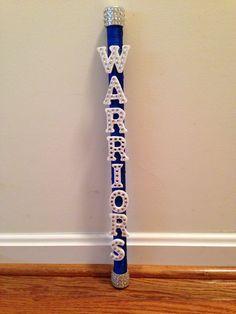 Cheerleading - Spirit Stick...GO WARRIORS!!!