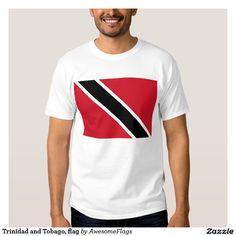 Trinidad and Tobago, flag Tshirt