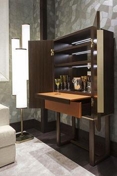 Popular Home Mini Bar Kitchen Designs Ideas To Have Asap 20 Cabinet Furniture, Bar Furniture, Kitchen Furniture, Luxury Furniture, Furniture Design, Furniture Stores, Living Room Bar, Living Room Designs, Coin Bar