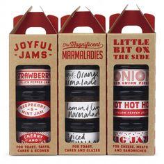Joyful Jams · Makers & Merchants · Handpicked food and homeware ranges Ice Cream Packaging, Honey Packaging, Dessert Packaging, Glass Packaging, Cool Packaging, Food Packaging Design, Packaging Design Inspiration, Brand Packaging, Jam Maker