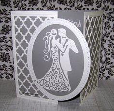 Hobbies That Will Make You Money Wedding Day Cards, Wedding Cards Handmade, Wedding Anniversary Cards, Greeting Cards Handmade, Happy Anniversary, Wedding Scrapbook, Scrapbook Cards, Scrapbooking, Paper Crafts Wedding