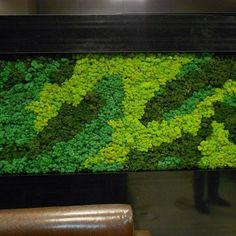 Wall Garden Indoor, Vertical Garden Plants, Outdoor Wall Art, Moss Wall Art, Moss Art, Green Landscape, Landscape Design, Garden Design, Vertikal Garden