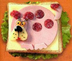 Vidám szendvicsek gyerekeknek - Képekkel