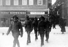 Heimwehrpatrouille in der Stadt Wien., © IMAGNO/Austrian Archives