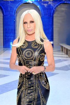 The one and only, Donatella Versace ... :)