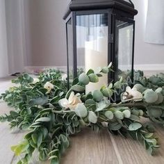 Eucalyptus & Boxwood Garland Wedding Centerpiece Table Runner   Etsy Boho Wedding Flowers, Garland Wedding, Floral Wedding, Rustic Wedding, Blue Wedding, Wedding Bouquets, Burgundy Wedding, Bridesmaid Bouquet, Spring Wedding