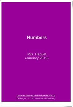 """Numbers"" (Libro interactivo de Inglés de Primaria) Movie Posters, Teaching Resources, Learning, Book, Film Poster, Billboard, Film Posters"