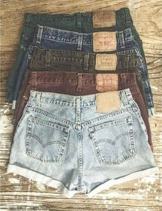 Denim shorts <3