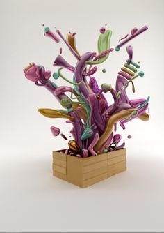 Synthetic Orquestra by colorsponge , via Behance