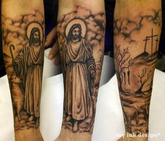 Religious Tattoo Sleeves | Tattoo Or Not To Tattoo-If It Is A Sin, Are You Still A Christian If ...