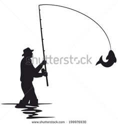 silhouette painting fish - Google Search