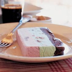 spumoni ice cream - Google Search. Used to come in a big flat square pack, always melting. One colour had cherries in? We called it Mr Spumoony...