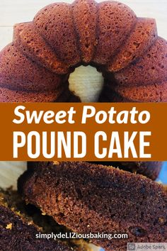 This Sweet Potato Pound Cake is an easy fall cake recipe from a Southern Living cookbook. It's made with simple ingredients. Exploding with the best fall flavor. Perfect for autumn and Thanksgiving. Make it today. Click here for recipe. #sweetpotatocake #poundcakelove #falldessert #fallcake Fall Cake Recipes, Fall Desserts, Drink Recipes, Delicious Desserts, Dessert Recipes, Cooking Recipes, Sweet Potato Pound Cake, Brown Sugar Cakes, Fall Cakes