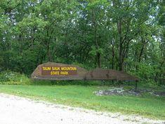 You'll find Taum Sauk Mountain State Park along Highway CC in Ironton, Missouri.