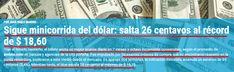 el blog de josé rubén sentís: ya hablan de una minicorrida del dólar...