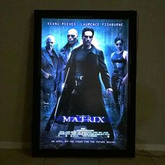 LED Movie Poster Light Box using LED strips and a dimmer to create a backlit movie poster, theater style - Heimkino Systemdienste