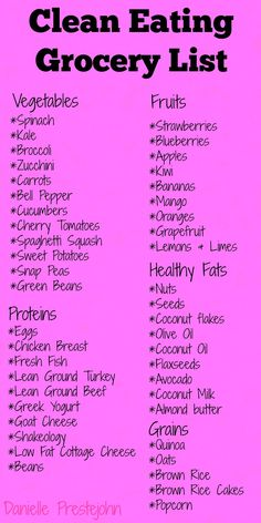 My favorite clean eating grocery list! Want more tips like these? Join in on my. , My favorite clean eating grocery list! Want more tips like these? Join in on my. My favorite clean eating grocery list! Want more tips like these? Clean Eating Grocery List, Clean Eating List, Healthy Eating Grocery List, Meal Prep Grocery List, Clean Eating Recipes For Weight Loss, List Of Healthy Snacks, Clean Eating Detox Plan, Healthy Eating Plans, Clean Eating For Beginners