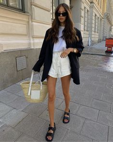 Fashion Mode, Look Fashion, Fashion Outfits, Spring Summer Fashion, Spring Outfits, Autumn Fashion, Looks Street Style, Looks Style, Ballerinas Outfit