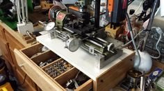 Modifications and Improvements to a Unimat SL 1000 Lathe by Paul Jones - I want to share some photos of the recent improvements I made to my Unimat SL 1000 lathe which has a 3