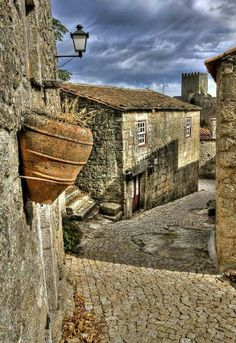 Medieval village of Sortelha in central Portugal Places In Portugal, Visit Portugal, Spain And Portugal, Portugal Travel, Places Around The World, Around The Worlds, Medieval Village, Portugal Holidays, Portuguese Culture