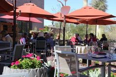 Outdoor patio dining works for eight months of the year in Phoenix and Scottsdale. Find the best spots to dine in a garden environment in Arizona.