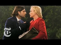 9 Kisses: Patricia Arquette & Jason Schwartzman / 18 of the year's best actors pucker up for the magazine's Great Performers issue. Watch them all here: http://nyti.ms/9-kisses (Photo/Video: Elaine Constantine)