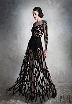 Yulia Yanina Fall-winter 2013-2014 - Couture - http://www.flip-zone.com/fashion/couture-1/independant-designers/yulia-yanina-4042