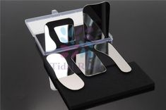 5Pcs/Set Dentist Products Oral Clinic Stainless Steel Photographic Mirror Reflector Dental Lab