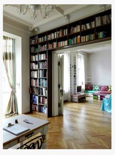 Living room bookshelf idea