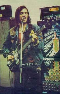 Lemmy ~has not changed his style, nor his jacket, in forty years.