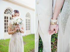 Great Gatsby styled wedding / Flora + Fauna Photography