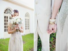 Great Gatsby styled wedding / Flora + Fauna Photography