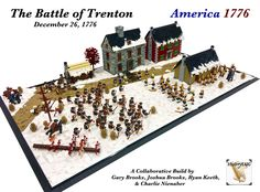 The Battle of Trenton, December 26, 1776 | by Gary^The^Procrastinator