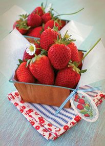 Printable Berry Basket Tags for strawberry freezer jam I'm making.