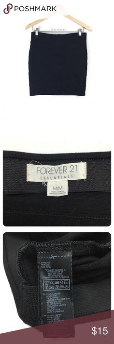"""F21 black body con mini skirt PRELOVED in great condition, minor wear, nothing noticeable.  details ・medium ・14.5"""" waist (will stretch) ・16"""" length  materials ・71% polyester ・24% rayon  ・5% elastane  💰 use offer feature to negotiate price 🚫 i do not trade or take any transactions off poshmark  please don't hesitate to ask questions. happy POSHing 😊  lighting- color of actual item may vary slightly from photos. human hand measurements- give or take a few cm Forever 21 Skirts Mini"""