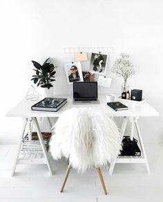 High Quality 88 Stylish And Minimalist Home Office Decoration Ideas