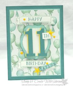 Stamp & Create With Sabrina: Number of Years & Large Numbers Bundle - Part 1
