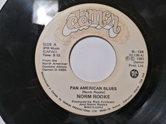 """Norm Rooke – Pan American Blues Label: Damon – D-126 Format: Vinyl, 7"""", Single Country: Canada Released: 1982 Damon, Blues, Label, Canada, Country, American, Rural Area, Country Music"""