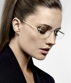 Beautiful, elegant Lindberg glasses.