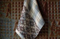 https://flic.kr/p/TCkPVt | crackle cloth | Swedish drall handwoven, linen, cotton, hemp