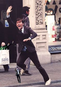 David Tennant In Places He Shouldn't Be!... I beg to differ. David Tennant can be anywhere and no one should question it.