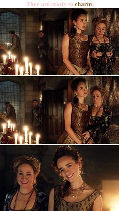 Catherine and Claude Reign Catherine, Reign Mary, Mary Queen Of Scots, Queen Mary, King Queen, Reign Fashion, Fashion Tv, Reign Serie, The Cw Tv Shows
