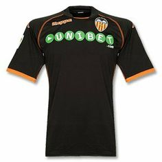 Valencia Away Shirt 09-10 by Kappa. $34.55. Valencia Away Shirt 09-10 100% Polyester Stylish New Design Embroidered Valencia Club Crest Embroidered Kappa logo Printed Unibet sponsor Kappa logos on sleeves Official LFP La Liga Patch Official Valencia Product