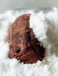 Salt-Crusted Beef Tenderloin Recipe