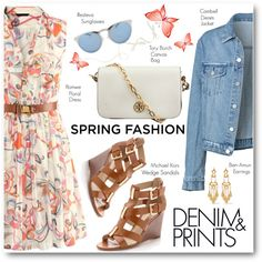 Sweet Spring Dresses by brendariley-1 on Polyvore featuring Michael Kors, Tory Burch, Ben-Amun, Illesteva and springdress