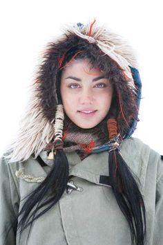 i like the natural makeup | Kapital clothing COLORADO HIPPIES 2011